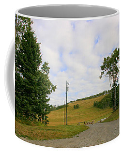Coffee Mug featuring the photograph Ahhh  Look Who's Coming by Betty-Anne McDonald