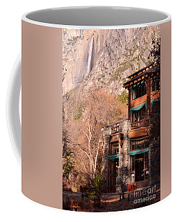 Ahwahnee And Yosemite Falls Coffee Mug