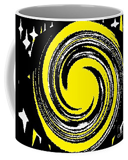 Coffee Mug featuring the digital art Aimee Starry Night by Catherine Lott