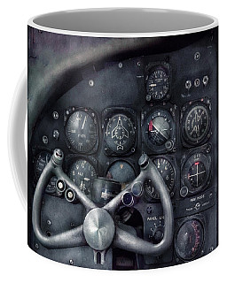Air - The Cockpit Coffee Mug by Mike Savad