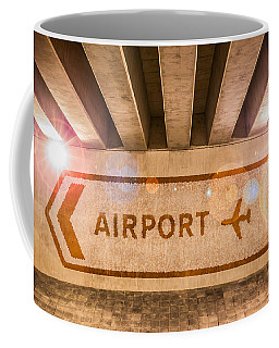 Airport Directions Coffee Mug by Semmick Photo