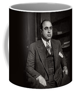 Al Capone - Scarface Coffee Mug by Doc Braham