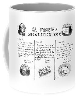 Al D'amato's Suggestion Box Coffee Mug