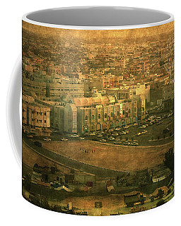 Al-khobar On Texture Coffee Mug