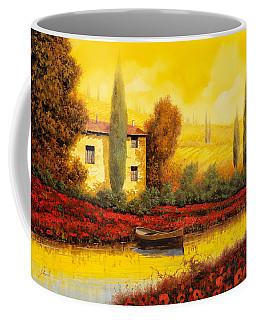 Al Tramonto Sul Fiume Coffee Mug