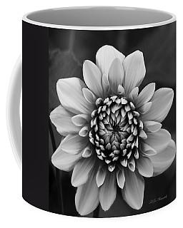Ala Mode Dahlia In Black And White Coffee Mug