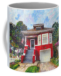 Colonial Revival High Basement Cottage 1907  Coffee Mug