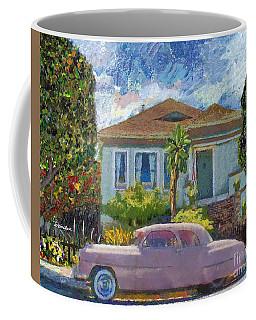 Alameda 1908 House 1950 Pink Dodge Coffee Mug
