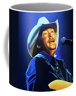 Alan Jackson Painting Coffee Mug
