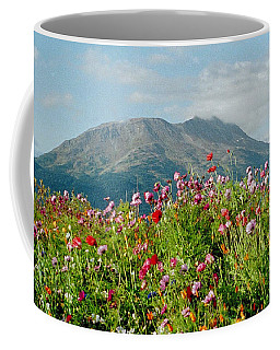 Alaska Flowers In September Coffee Mug