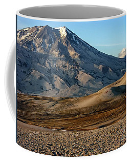 Coffee Mug featuring the photograph Alaska Landscape Scenic Mountains Snow Sky Clouds by Paul Fearn