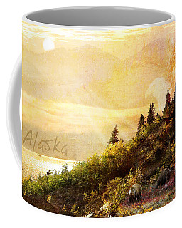 Alaska Montage Coffee Mug by Ann Lauwers