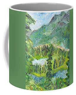 Alaska  Mountain Range Coffee Mug
