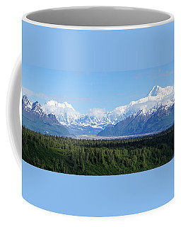 Alaskan Denali Mountain Range Coffee Mug