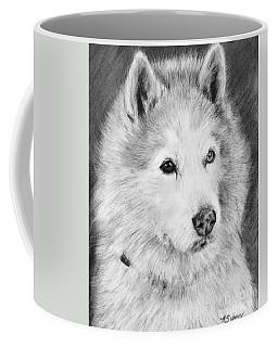 Alaskan Malamute Drawing Mardi Coffee Mug