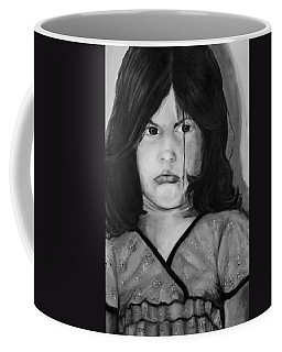 Alayna Off Center Coffee Mug by Jean Cormier