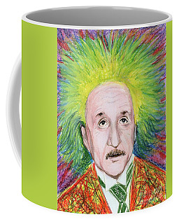 Albert Einstein Coffee Mug by Yoshiko Mishina