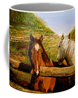 Alberta Horse Farm Coffee Mug