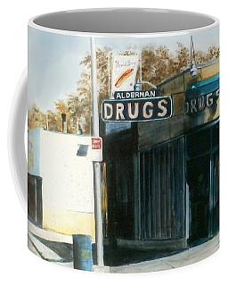 Alderman Drugs Coffee Mug