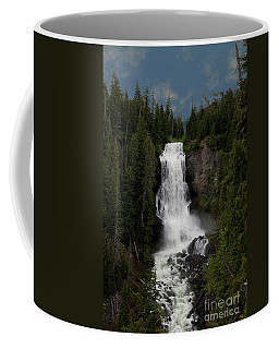 Coffee Mug featuring the photograph Alexander Falls by Rod Wiens