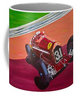 Alfa Romeo Tipo B P3  Coffee Mug by Anna Ruzsan