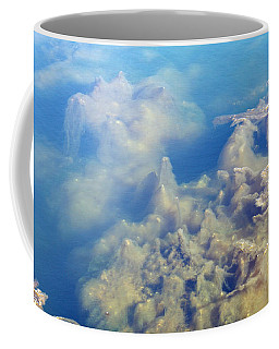 Coffee Mug featuring the photograph Algae Stalagmites by Greg Graham