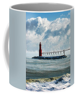 Algoma Pierhead Lighthouse Coffee Mug