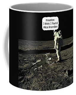 Alice Kramden On The Moon Coffee Mug