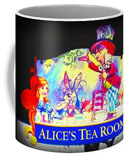 Alice's Tea Room Coffee Mug by Kelly Awad