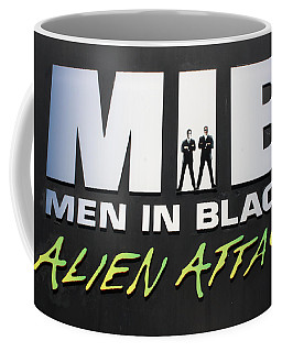 Alien Attack Coffee Mug by David Nicholls