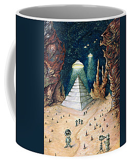 Alien Invasion - Space Art Painting Coffee Mug