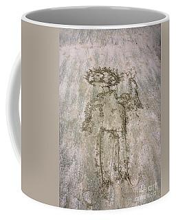 Alien On The Beach Coffee Mug