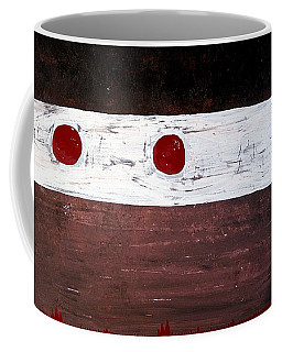 Alignment Original Painting Coffee Mug by Sol Luckman