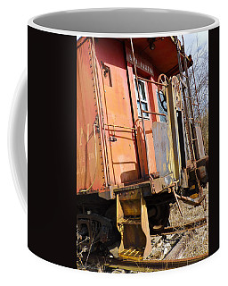 Coffee Mug featuring the photograph All Aboard by Nick Kirby