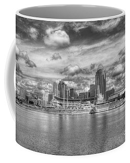 Coffee Mug featuring the photograph All American City 2 Bw by Mel Steinhauer