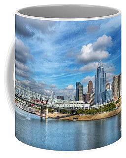 Coffee Mug featuring the photograph All American City 3 by Mel Steinhauer