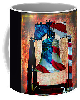 Liberty Bell Art Smooth All American Series Coffee Mug