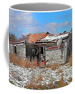 Coffee Mug featuring the photograph All But Gone by Victor Montgomery