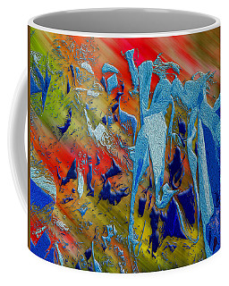 All Dat Jazz Coffee Mug by Paul Wear