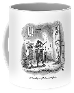 All I'm Getting Out Of Him Is A Lot Of Profanity Coffee Mug