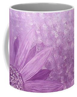 All Purple Flower Coffee Mug
