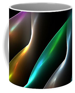 Coffee Mug featuring the digital art All Shapes And Colors 3 by Greg Moores