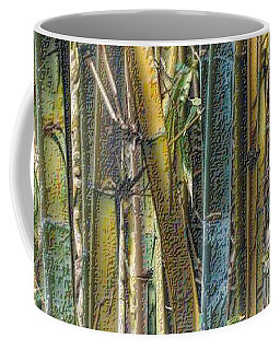 Coffee Mug featuring the photograph All The Colors Of The Bamboo Rainbow by Nadalyn Larsen