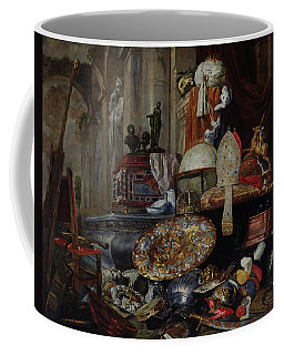 Allegory Of The Vanities Of The World, 1663 Oil On Canvas Coffee Mug