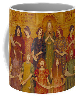 Coffee Mug featuring the painting Alleluia by Thomas Cooper Gotch