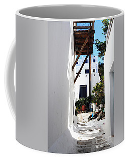 Alleys Of Mykonos Coffee Mug