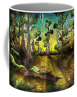 Alligator Swamp Coffee Mug