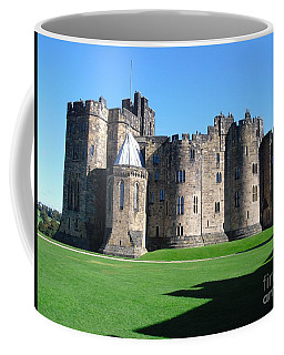 Coffee Mug featuring the photograph Alnwick Castle Castle Alnwick Northumberland by Paul Fearn