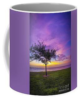 Alone At Sunset Coffee Mug