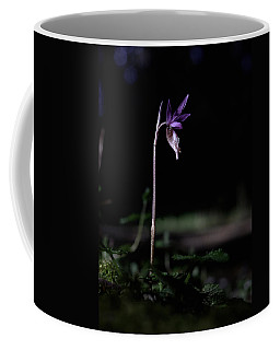 Coffee Mug featuring the photograph Alone In The Forest by Betty Depee